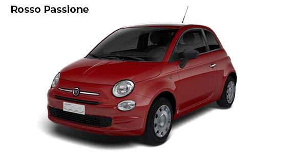 Fiat 500 1.0 pop Hybrid Rosso