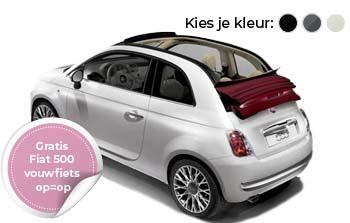 Fiat 500 1.2 Cabrio Yourlease