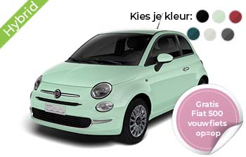Fiat 500 Hybrid Lounge Yourlease