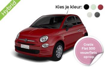 Fiat 500 Pop Hybrid Yourleasekopie
