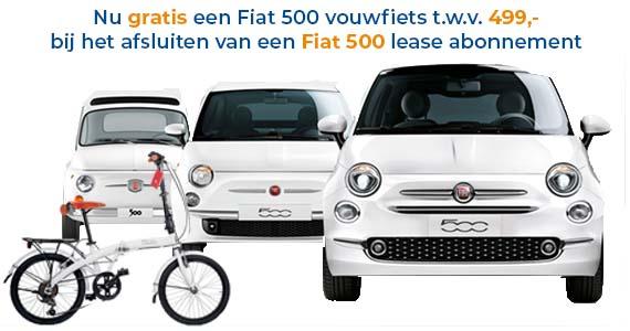 Fiat 500 vouwfiets