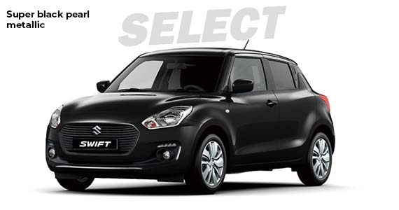 Suzuki Swift deep black pearl