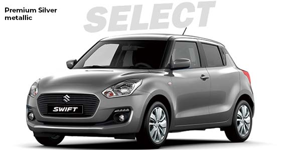 Suzuki Swift premium silver