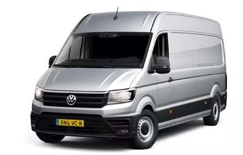 Volkswagen Crafter zakelijk leasen Yourlease