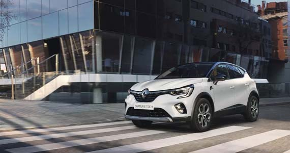 Renault CAPTUR Intese Plug in Hybrid