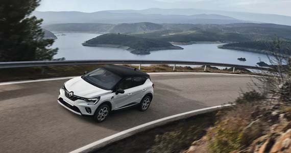 Renault CAPTUR Intese Plug in Hybrid sfeer