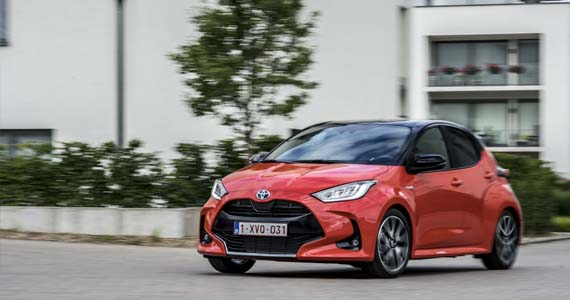 Toyota yaris hybrid 1.5 style private lease sfeer