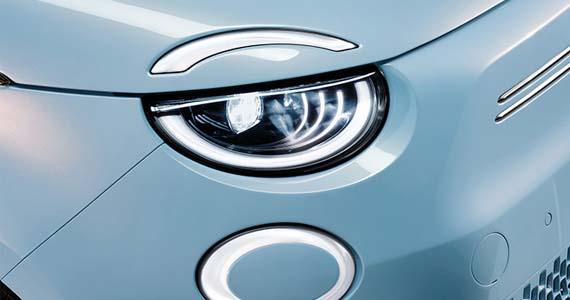 Fiat 500 Elektrisch LED verlichting