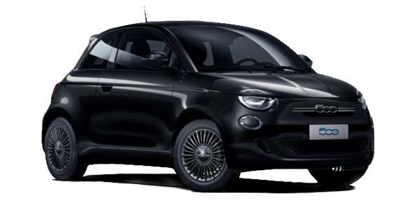 Fiat 500 elektrisch Action