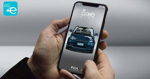 Fiat 500 elektrisch app
