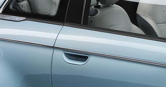 Fiat 500 elektrisch keyless entry