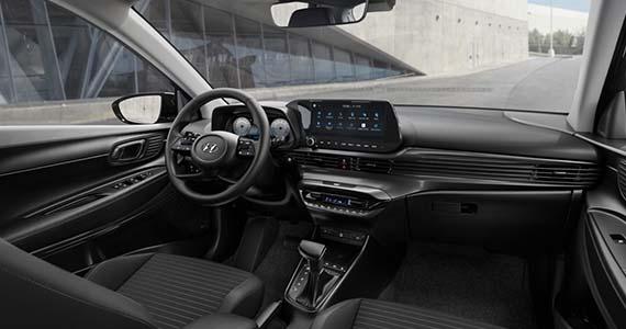 Hyundai i20 dashboard