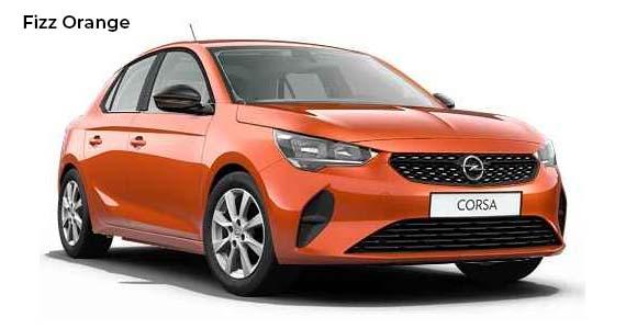 Opel Corsa Fizz Orange