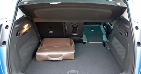 Opel Crossland X kofferruimte