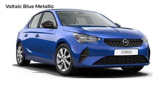 Opel corsa Voltaic Blue