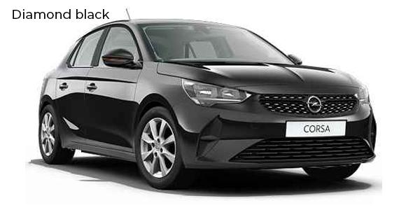 Opel corsa diamond black