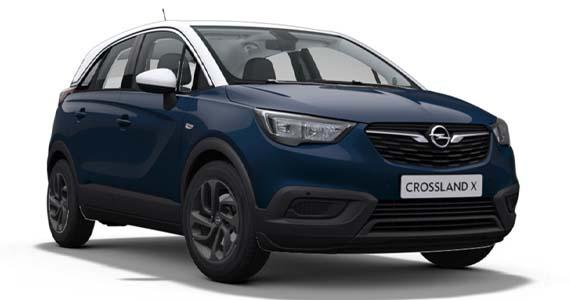 Opel crossland x Darkmoon blue