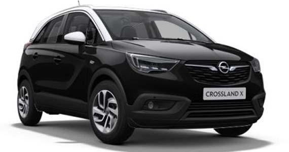 Opel crossland x Diamond black