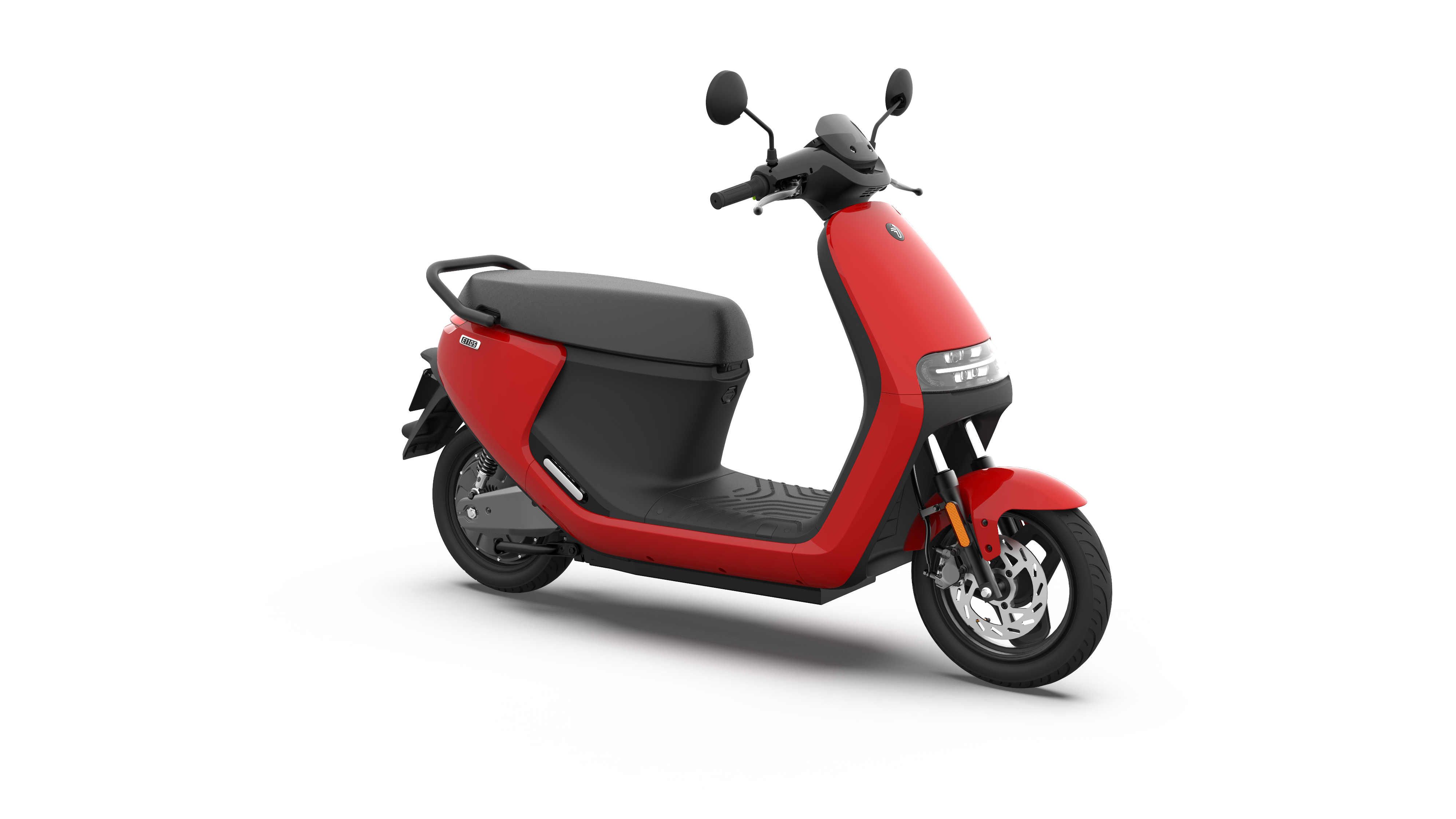 eScooter E110S Intense Red Glossy 360 12