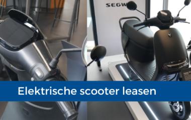 Elektrische scooter leasen