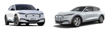 Ford Mustang Mach e: Top 5 zakelijke leaseauto's