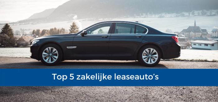 Top 5 zakelijke leaseautos