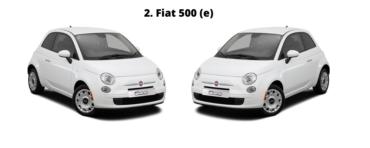 Top 5 goedkoopste leaseauto's