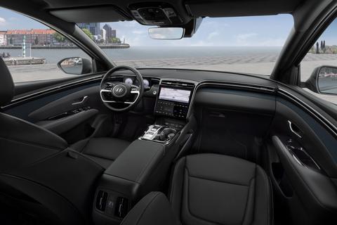 Hyundai TUCSON interieur