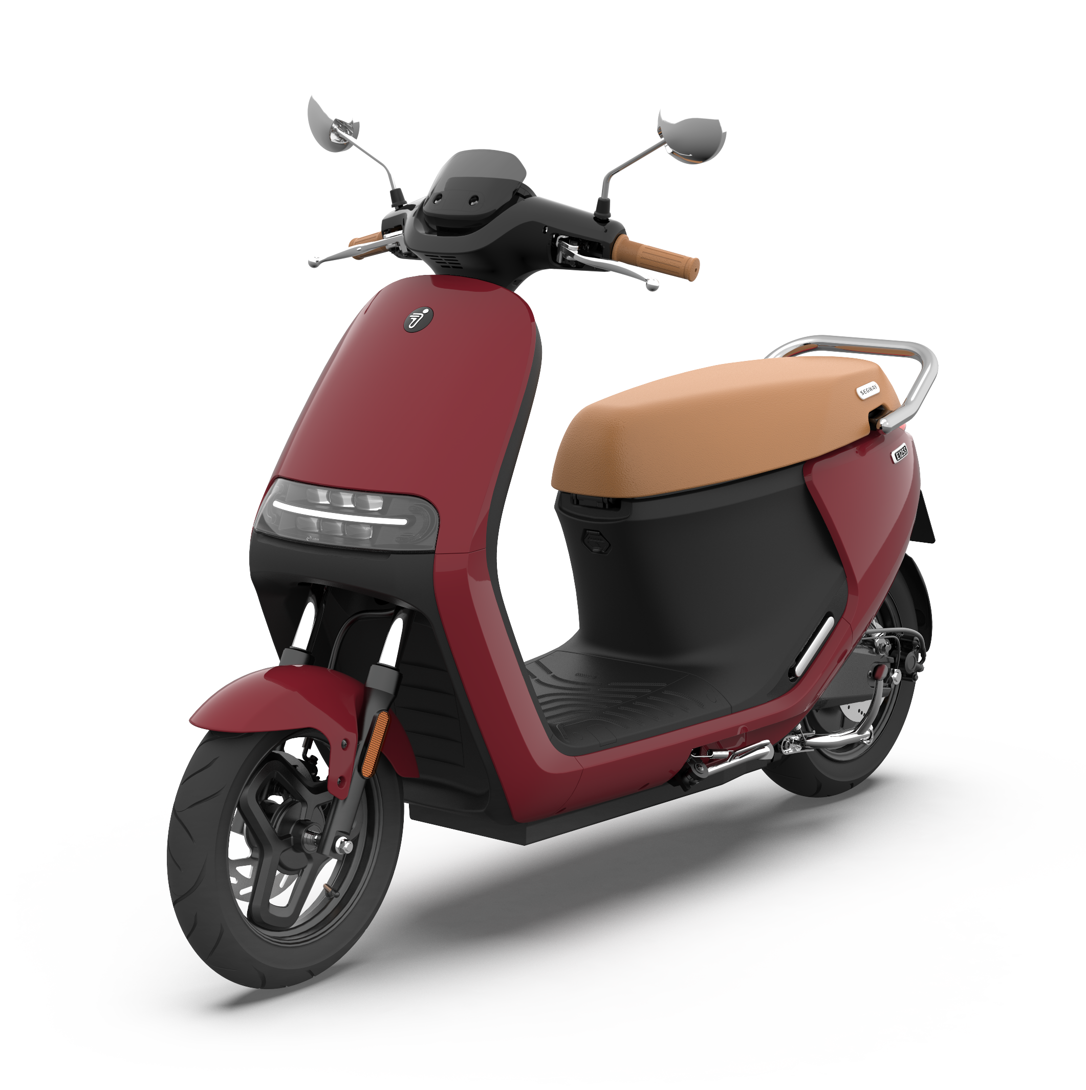 eScooter E125S Ruby Red Glossy 360 1 1
