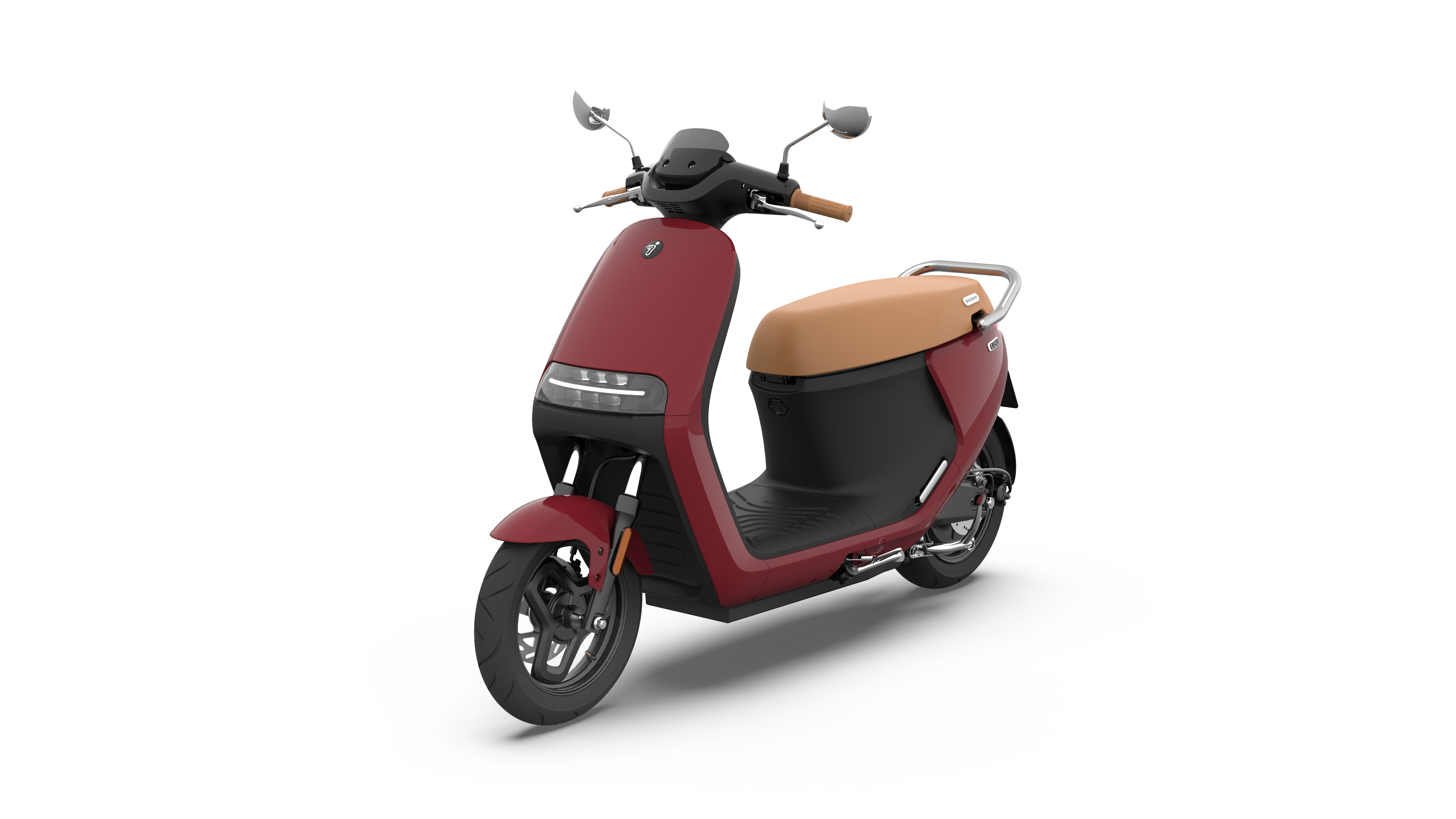 eScooter E125S Ruby Red Glossy 360 16
