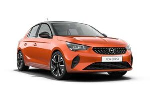 Opel Corsa 1.2 Oranje zwart Autos Yourlease template